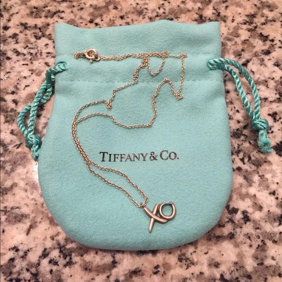 87f6b50f5 Tiffany & Co. Jewelry | Tiffany Co Paloma Picasso Xo Necklace | Poshmark